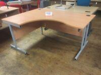 Beech 1600 corner desk.