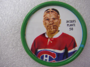 HOCKEY  JACQUES PLANTE  (SHIRRIFF)