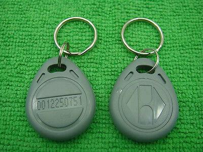 100p Gray 125khz Rfid Proximity Id Identification Token
