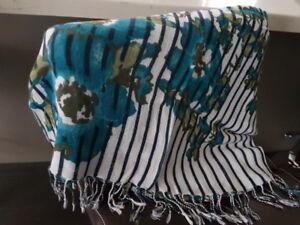 Woman's scarfs.