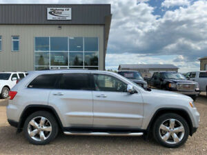 2013 JEEP GRAND CHEROKEE OVERLANDER LOADED
