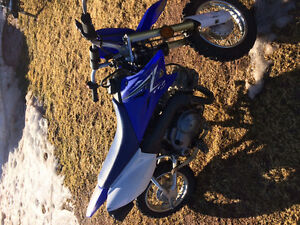 Kids ttr 50 dirt bike
