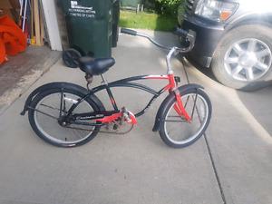 Schwinn Boys Beach Cruiser Bike - age 8-10