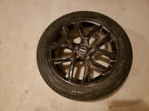 """Three 17 """" Michelin X-Ice XI3 Winter Tires and Alloy Rims"""