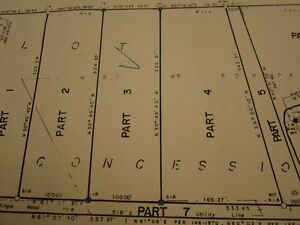 VERY GOOD BUILDING LOT TO BUILT YOUR HOUSE IN ONTARIO