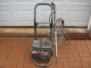KARCHER 2000psi Gas pressure washer