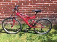 Trax TFS1 Mountain Bike - Full Suspension