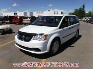 2016 DODGE GRAND CARAVAN CVP WAGON 3.6L CVP