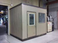 Professionally manufactured  8 X 10 X 9 feet modular office