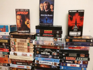 100 VHS movies