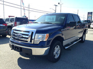 2010 Ford F-150 Crew Cab * 4 x 4 * CERTIFIED *