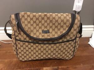 Gucci Messenger- Gucci diaper bag
