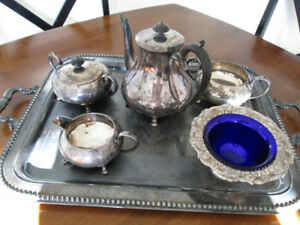 VintageTea Set (6), Winchester,Silverplate,Sheffield, England