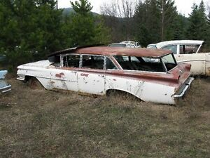 1959 OLDSMOBILE STATION WAGON.....selling as a parts car