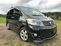 FRESH IMPORT 2007 FACE LIFT TOYOTA ALPHARD ESTIMA 3.0 VVTI PETROL LEATHER