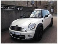 11 61 MINI COOPER 1.6D CHILLI 3DR DIESEL WHITE RECARO LEATHER B/TOOTH £0 TAX A/C