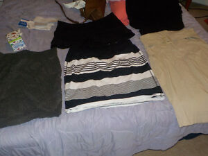 3 High waisted skirts and 1 pair of high waisted shorts