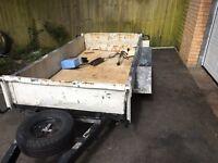 Heavy duty trailer8x4