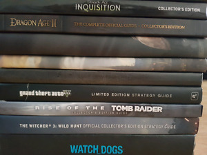 Hardcover collectors guides