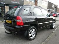 2008 Kia Sportage 2.0 4WD XS 5DR Auto 58 REG Petrol Black