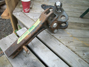 15000 lb. trailer hitch and bars