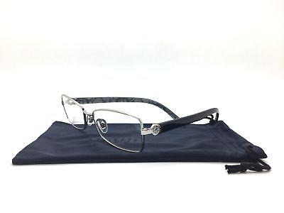 Bvlgari Silver Eyeglasses BV 2102 102 55 mm Italy fashion demo lenses