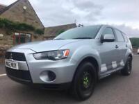 2012 62 MITSUBISHI OUTLANDER 2.2 DI-D GX1 4WORK 4WD