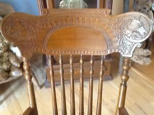 Antique Rocking Chair Kitchener / Waterloo Kitchener Area image 4