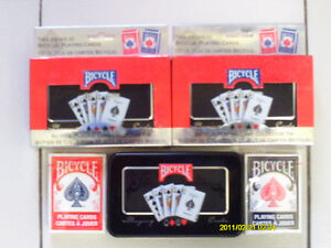 Limited Edition Bicycle Playing Card Collector Tin 2 Pak