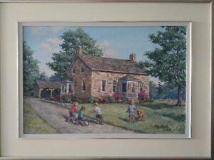 Original Oil Painting by James L. Keirstead – Soccer Fun