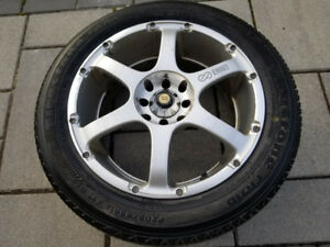 Enkei Mags & Tires 205/55R16 Honda Civic