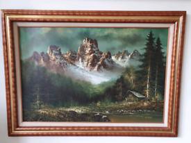 Original painting from Geneva, Switzerland