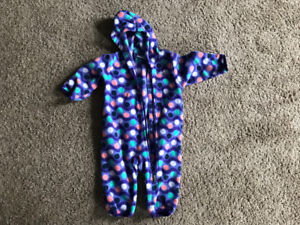 Columbia fleece suit