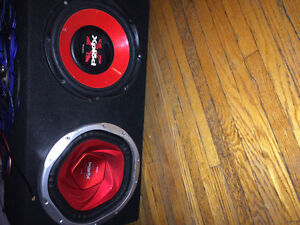 12 inch subwoofers with kenwood amp London Ontario image 2