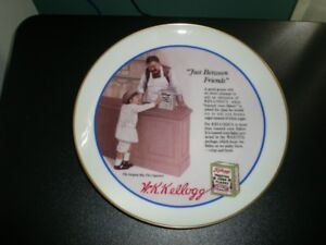 KELLOGG'S NOSTALGIA COLLECTION 'JUST BETWEEN FRIENDS' PLATE