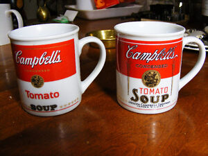 2 Campbell's Tomato Soup Cups - 125th Anniversary - 1994