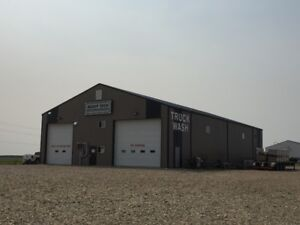 Commercial Truck Wash/ Shop Space In Humboldt Sk.