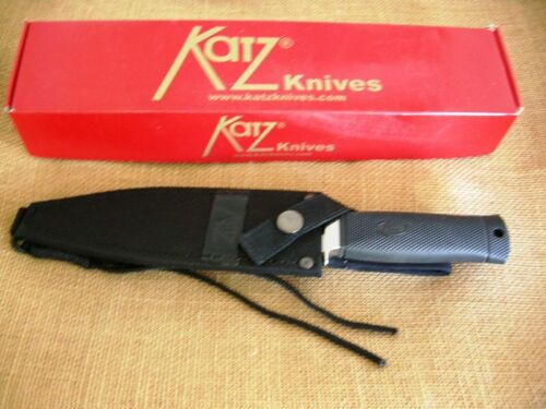 Katz Fixed Blade Tactical Knife Alley Kat  Kraton/Cordura Sheath,6006