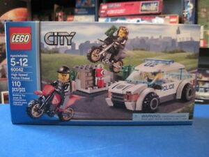 Lego set 60042  City High Speed Police chase , Boite scellée