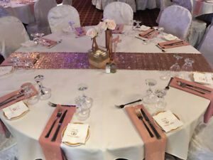 Wedding decor kijiji in alberta buy sell save with canadas complete rose gold and white wedding decor junglespirit Choice Image