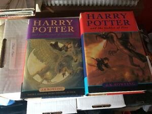 harry potter hardcover lot of 5