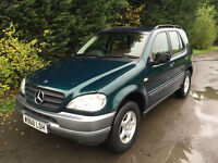 PART EXCHNAGE TO CLEAR - 2000 (W) REG - MERCEDES ML 320 AUTOMATIC 4X4 3.2 PETROL