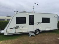 Elddis Crusader Tornado 2010 - 4 berth, fixed bed, end washroom. With many extras included