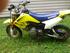 Suzuki 70 dirt bike
