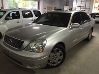 2001 Lexus LS430 safety and emission included