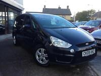 2009 (09) Ford S-MAX 2.0TDCi (140ps) Zetec *7 Seater, 6 Sp* (Finance Available)