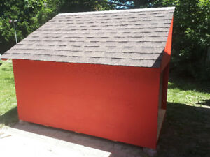 Large custom dog house