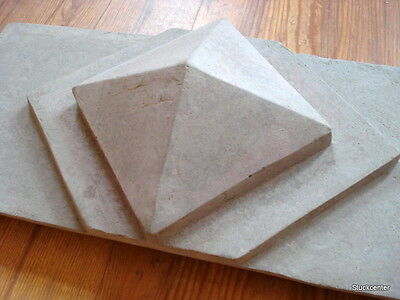 Stucco - Fassadenstuck Schmuckplatte Art-Deco / Gründerzeit -Stil aus Beton
