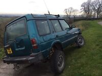 Landrover discovery 300tdi off road ready