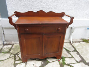 Antique (c1880) Washstand with Towel Bars